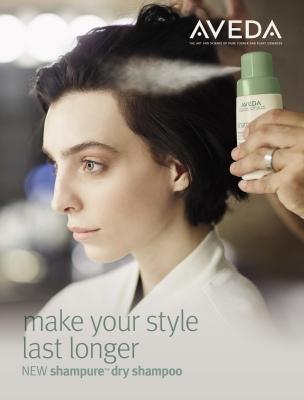 Aveda's NEW Shampure Dry Shampoo